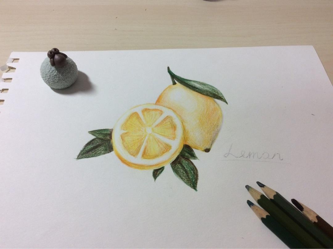 各位多多包涵哈 主要材料: 画纸 所需工具: 铅笔 彩铅 橡皮 制作步骤